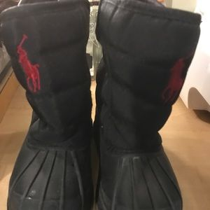 Polo winter snow boots